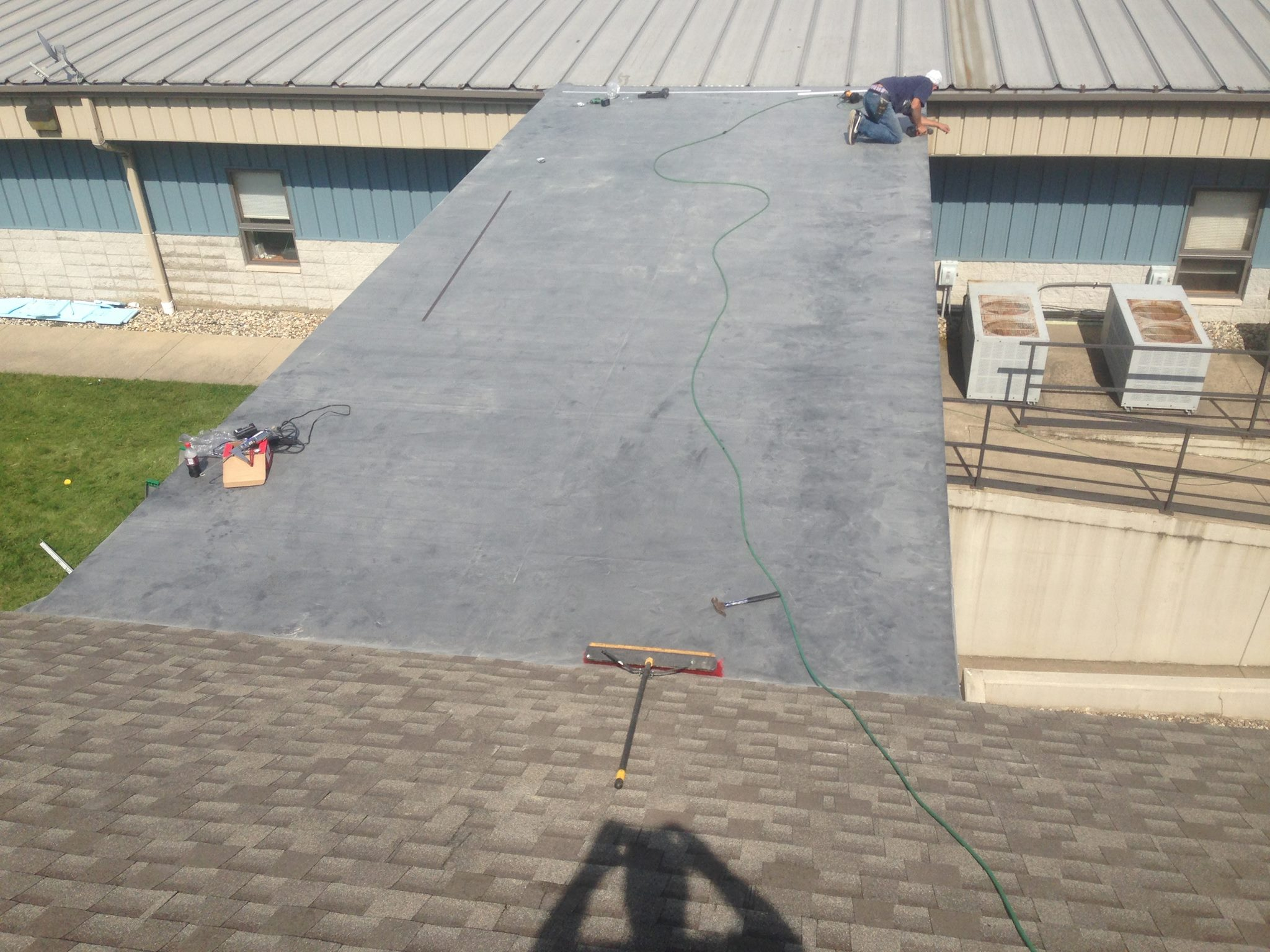 Professional EPDM Rubber Roofing Installation